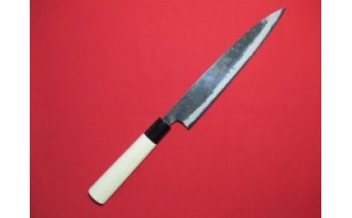 土佐打刃物職人謹製・本格黒打ち包丁 小柳包丁刃渡り