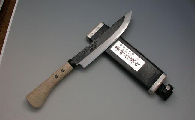 味方屋 黒打ち剣鉈両刃6寸