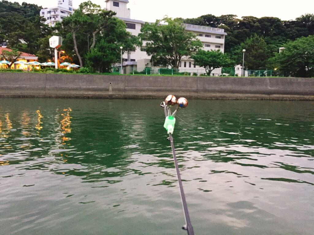 ウナギ釣り 鈴