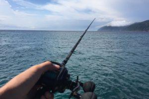 西伊豆で釣り