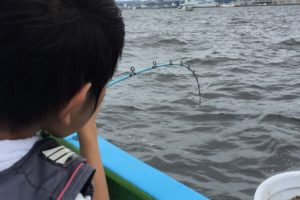 船釣り 子供 初体験