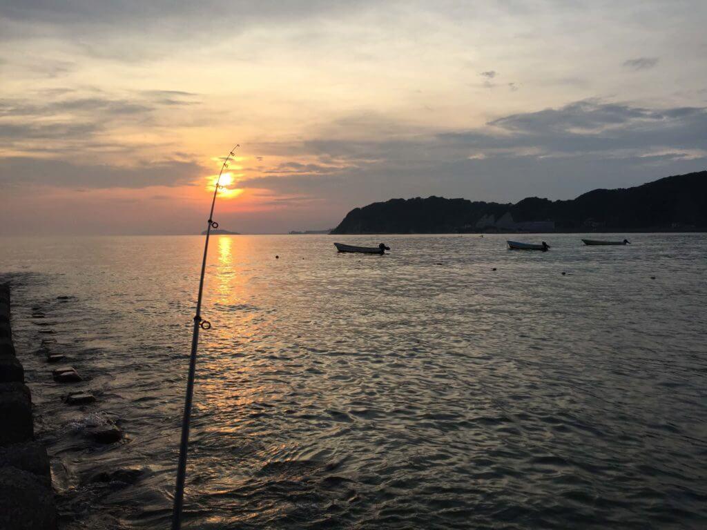 逗子海岸釣り