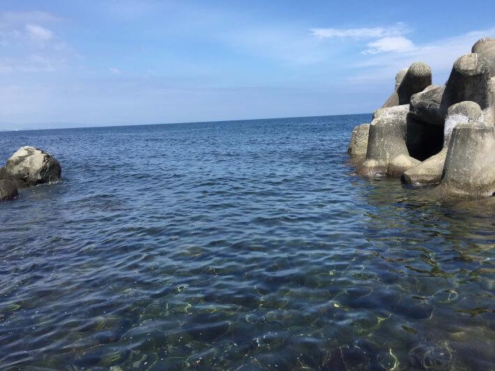 江之浦漁港 テトラ