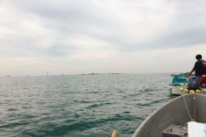 ボート釣り 出航