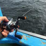 鼻息荒く金沢八景からアミ五目船で釣りにでた