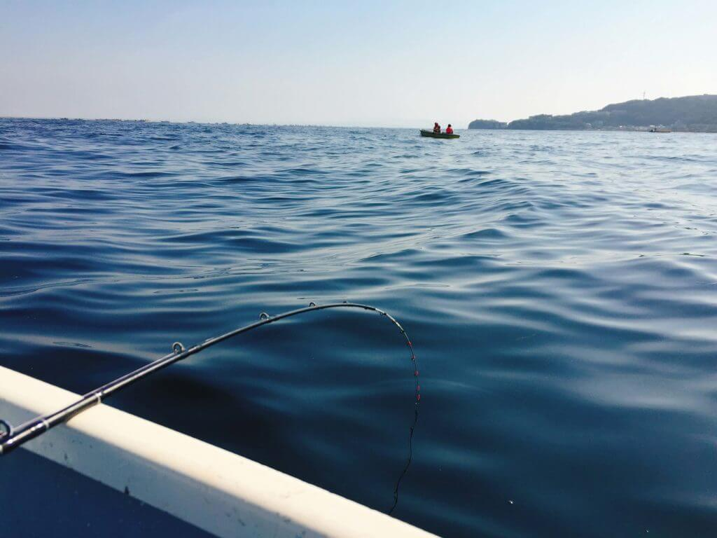 大津 ボートで釣り