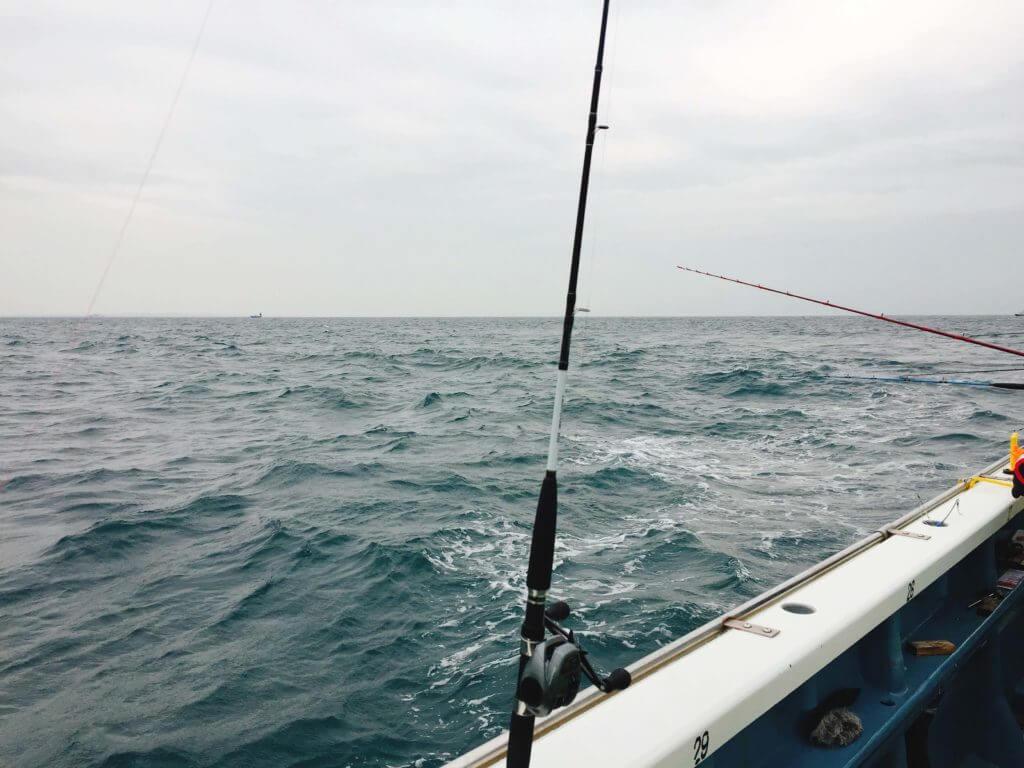 アマダイ釣り船