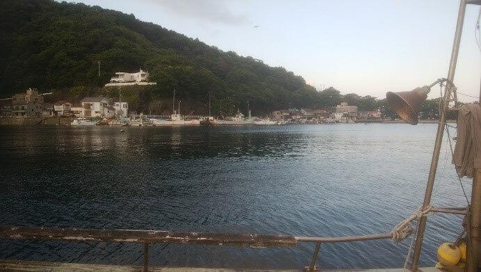 戸田湾の風景