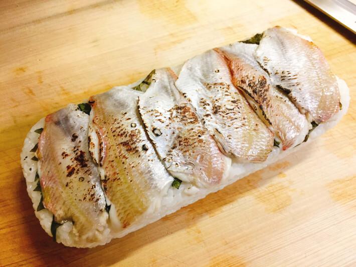 炙り黄鯛寿司
