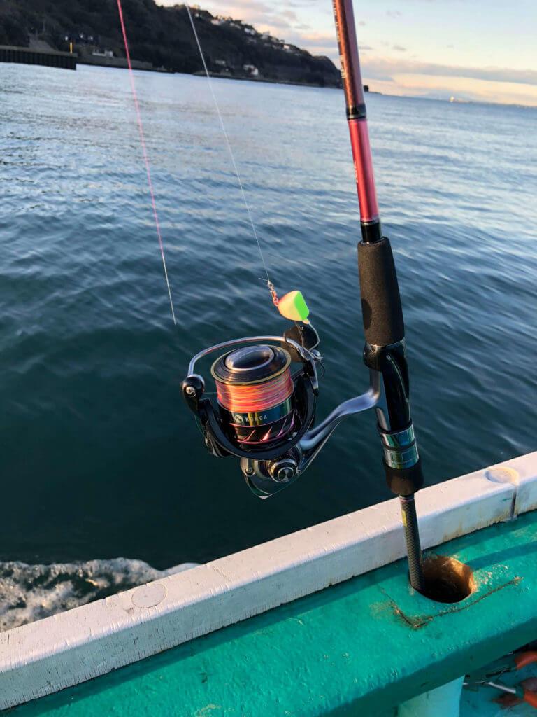 ダイワ(Daiwa) タイテンヤロッド スピニング 紅牙 テンヤゲームMX M-240 釣り竿