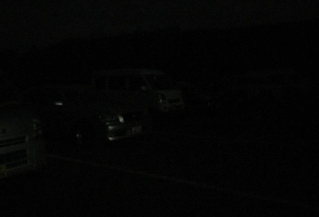 サーフの夜は闇