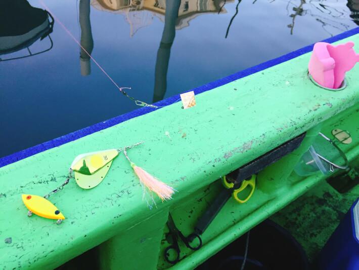 カワハギ釣りの釣り座