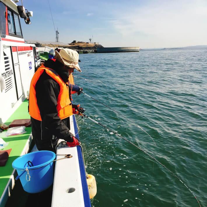 東京湾 船釣り