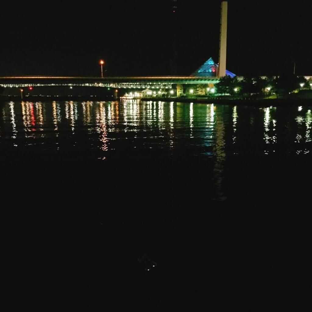 八景島対岸 夜景
