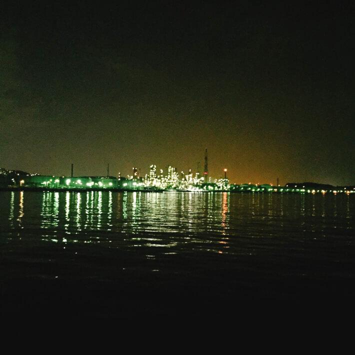 横浜某所の夜景