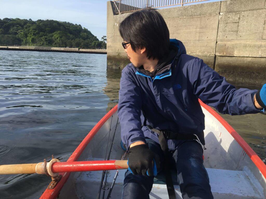 平田剛士 金沢八景・相川ボート釣り