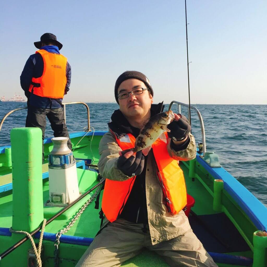 船釣り メバル釣った