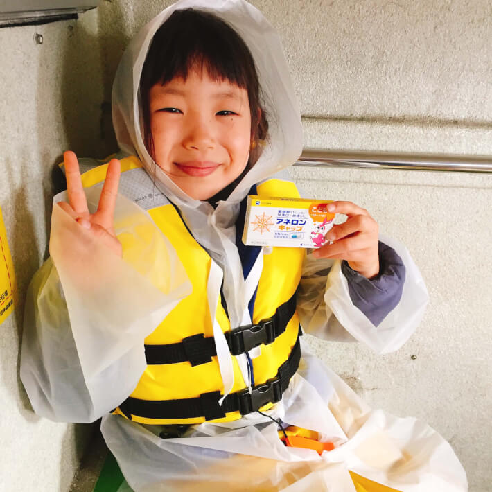 小学生の女の子 釣り アネロン