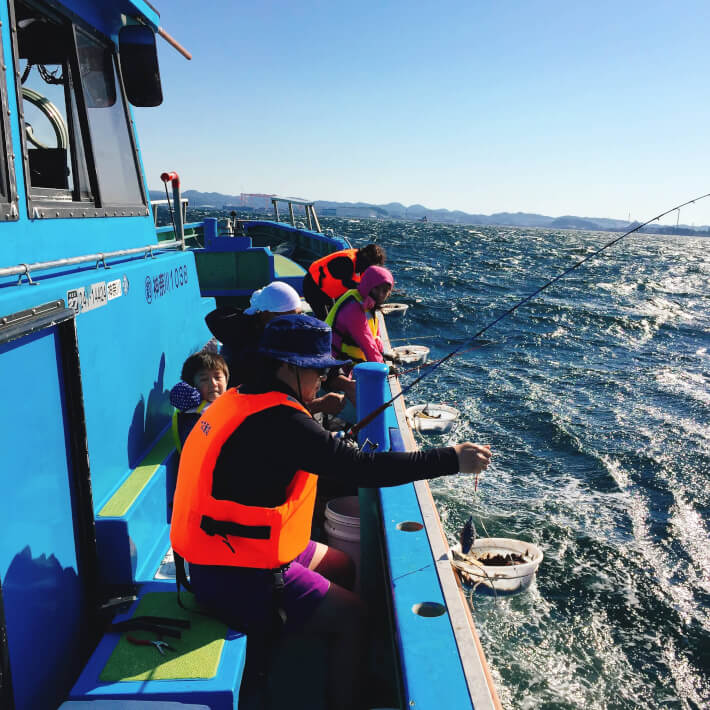 ORETSURI TABICAの船釣り