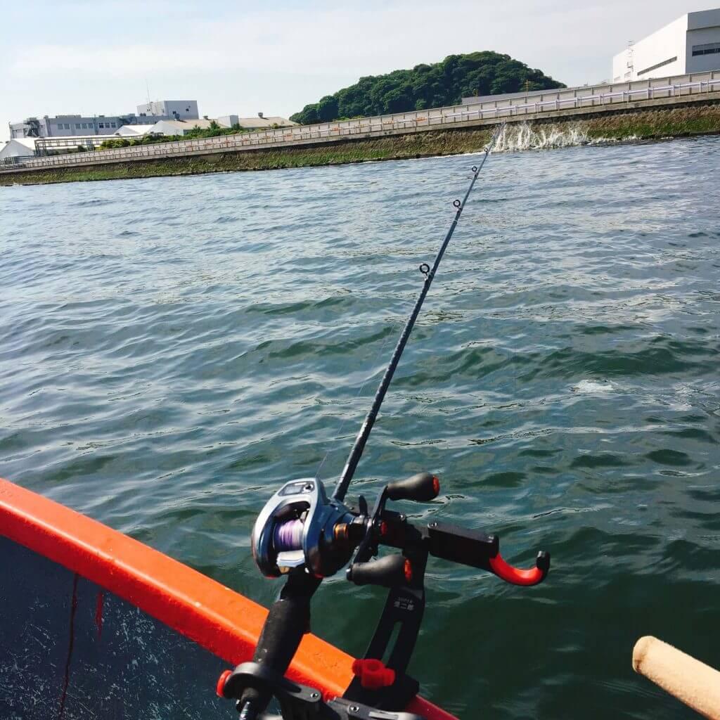 金沢漁港相川ボート釣り
