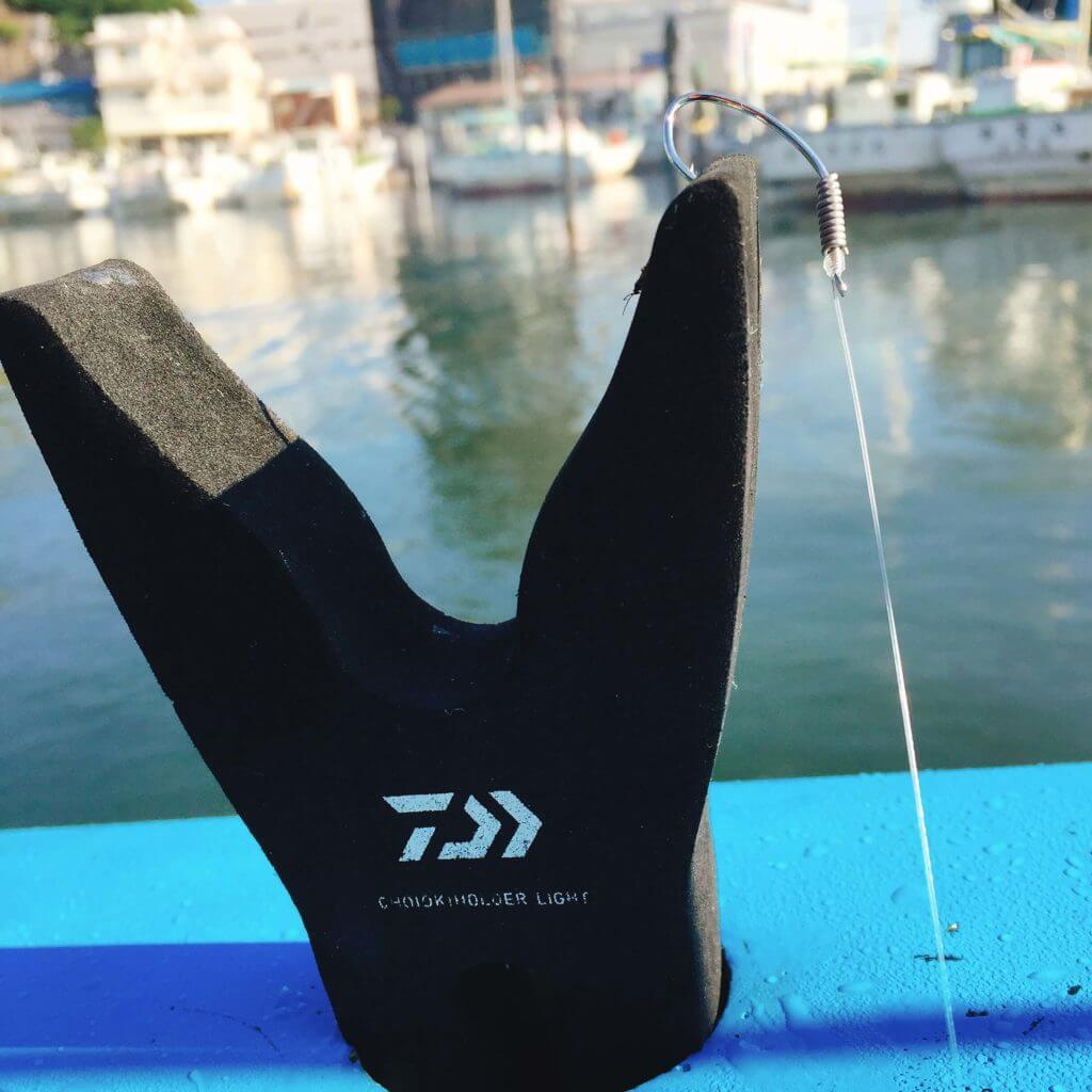 釣り道具 ダイワの竿置き