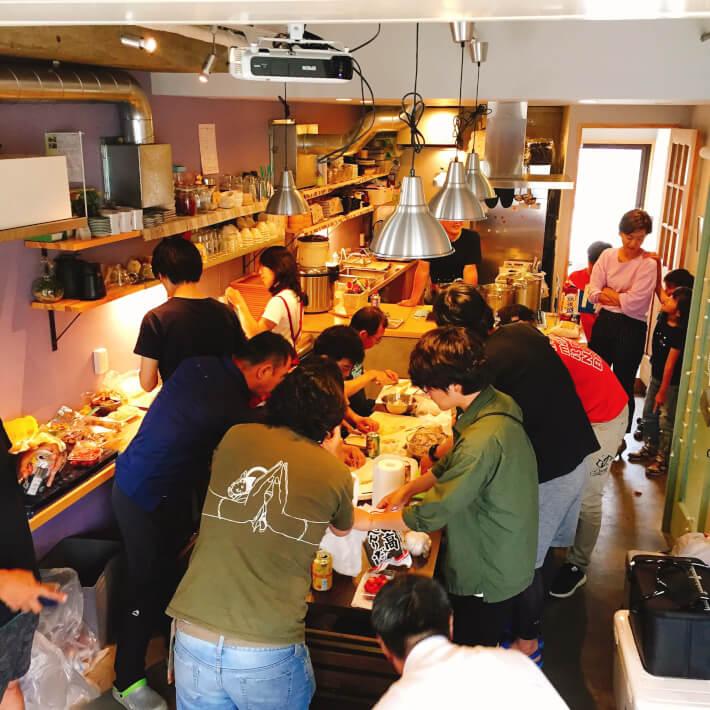 リストランテORETSURI4 逗子キッチン