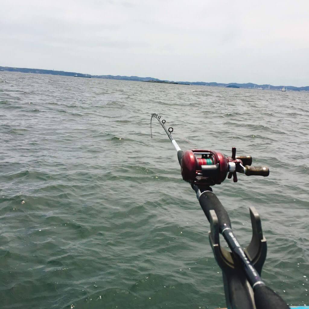 船釣り 置き竿