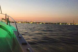 東京湾のナイトボート釣り