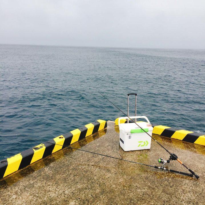 伊豆大島でブッコミ釣り