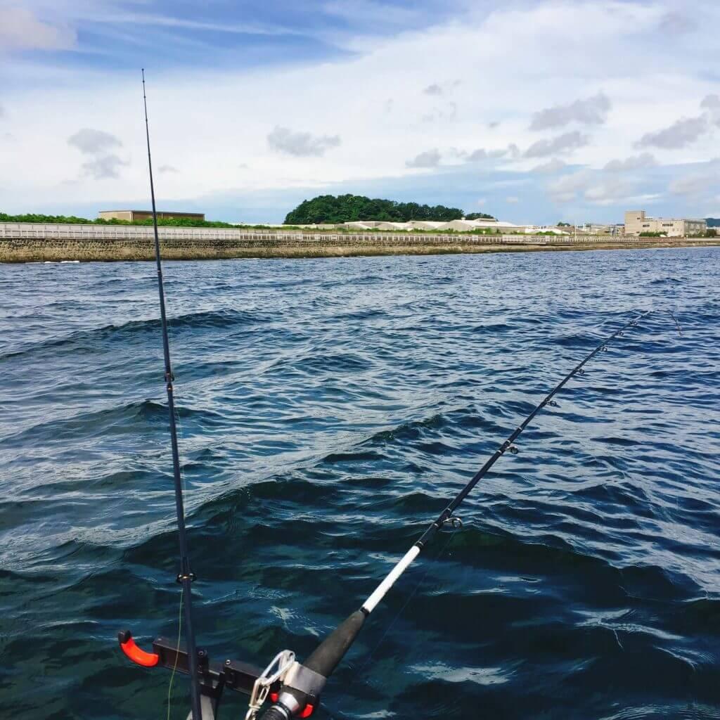 相川ボートで泳がせ釣り