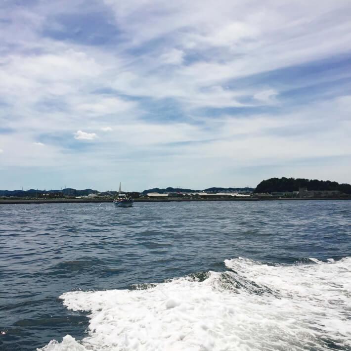 金沢八景 釣り船
