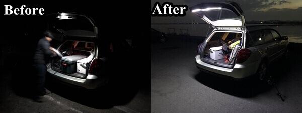 LEDライト比較