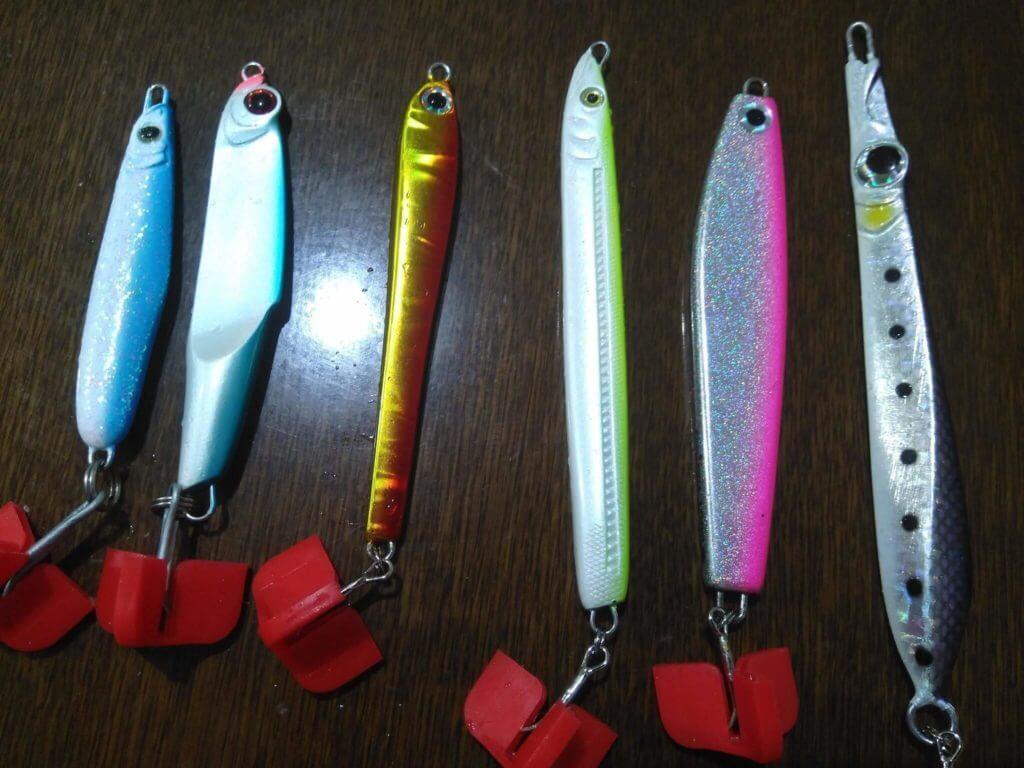 釣り道具 メタルジグ