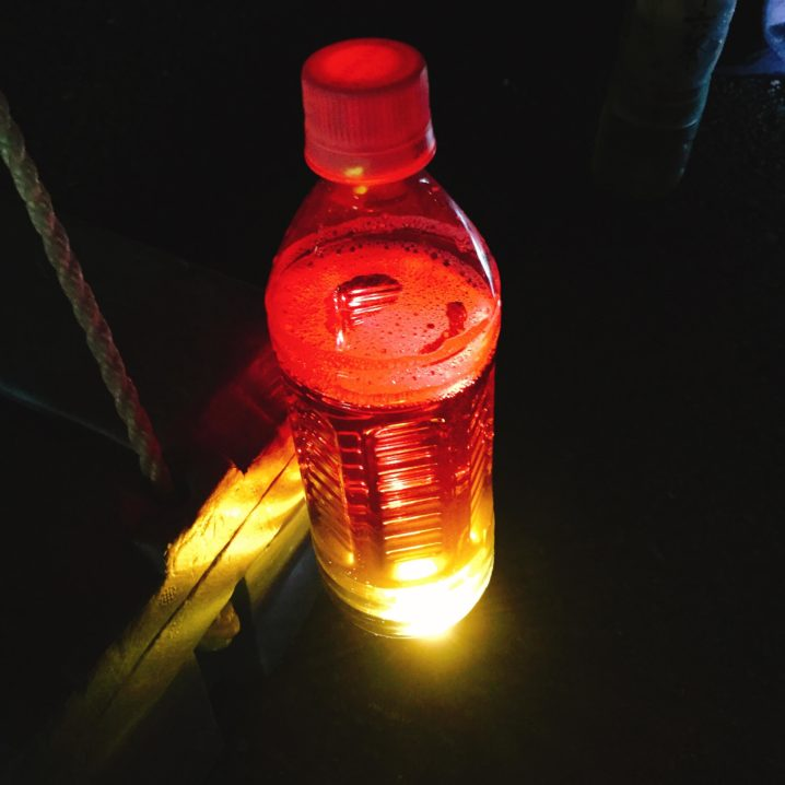 ペットボトルライト