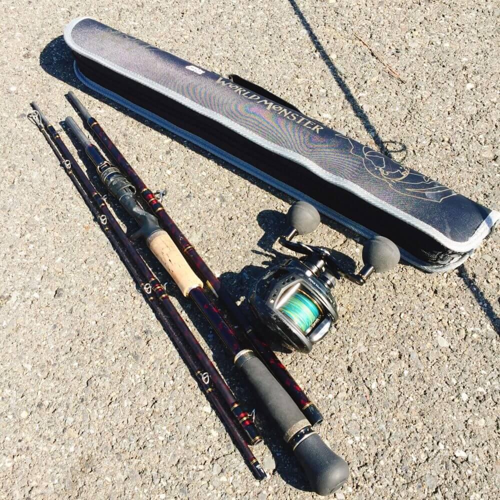 釣り道具 ワールドモンスターとWM60+PE4号