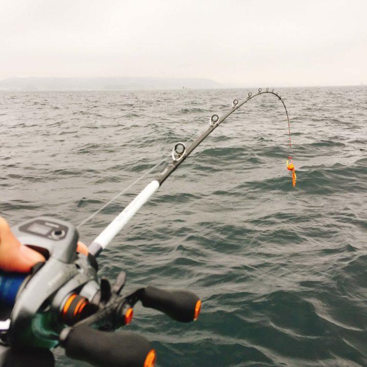タイラバをつかった真鯛釣り