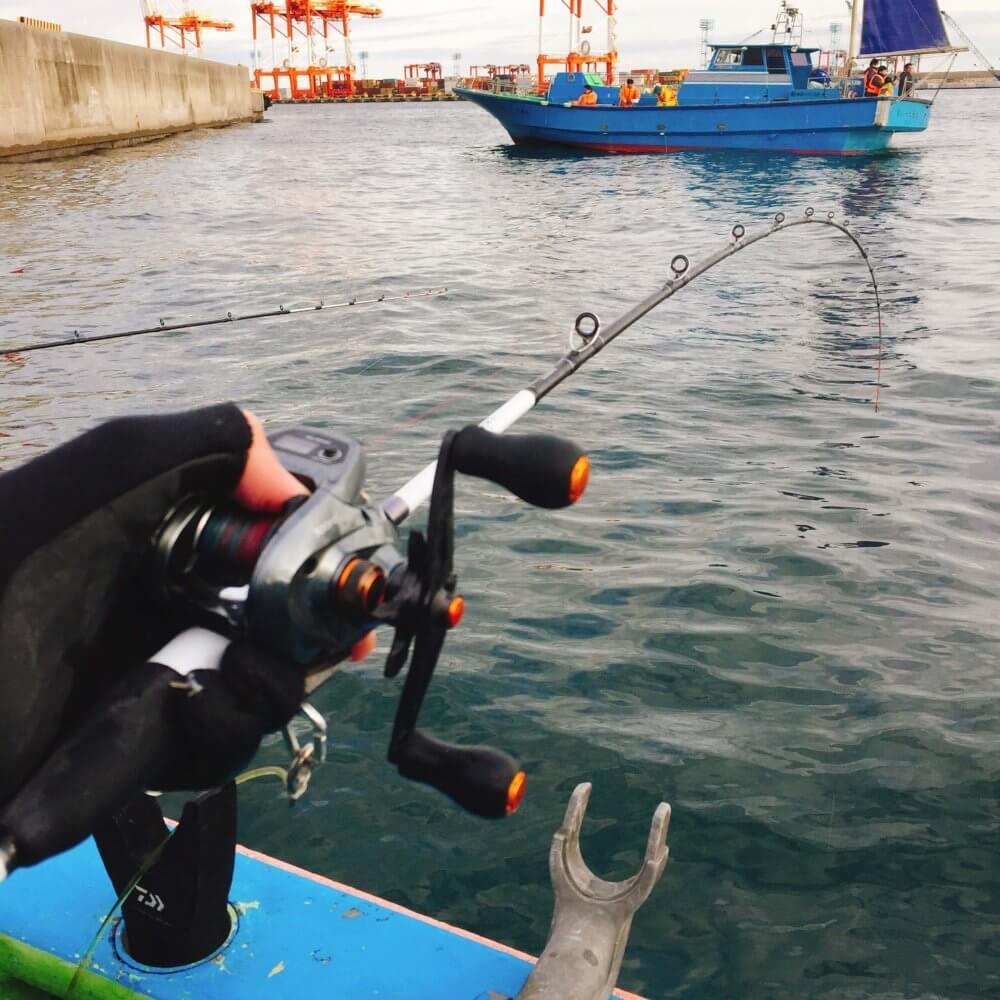 釣り船からの風景(本牧)