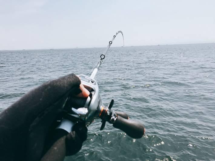 船釣りの様子