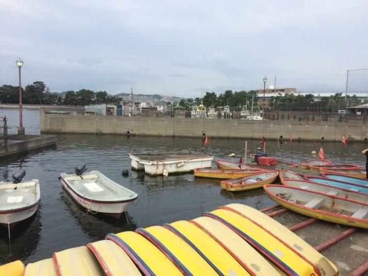 相川ボート乗り場