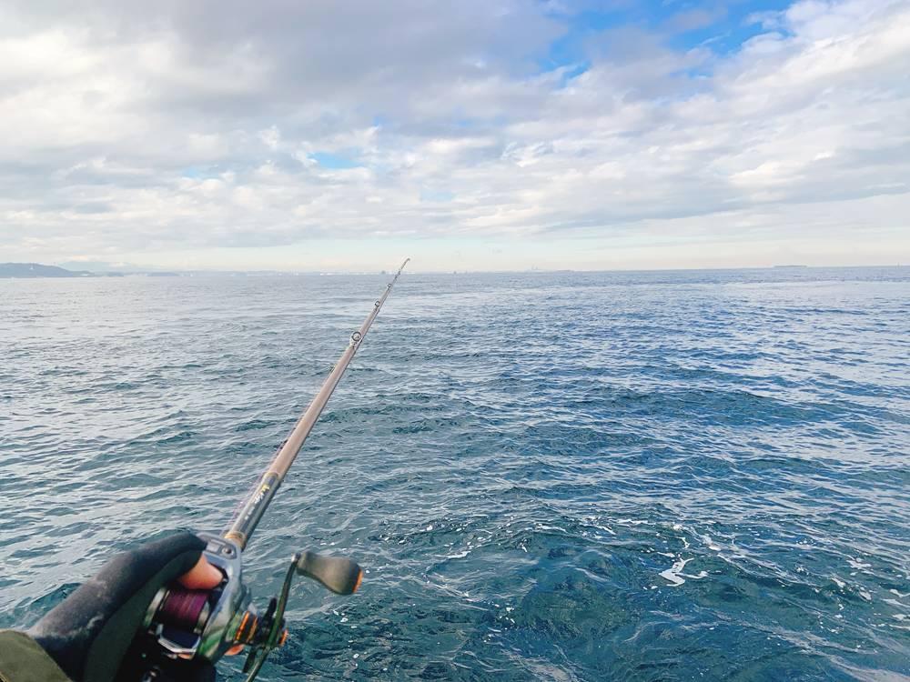 スミイカ釣り