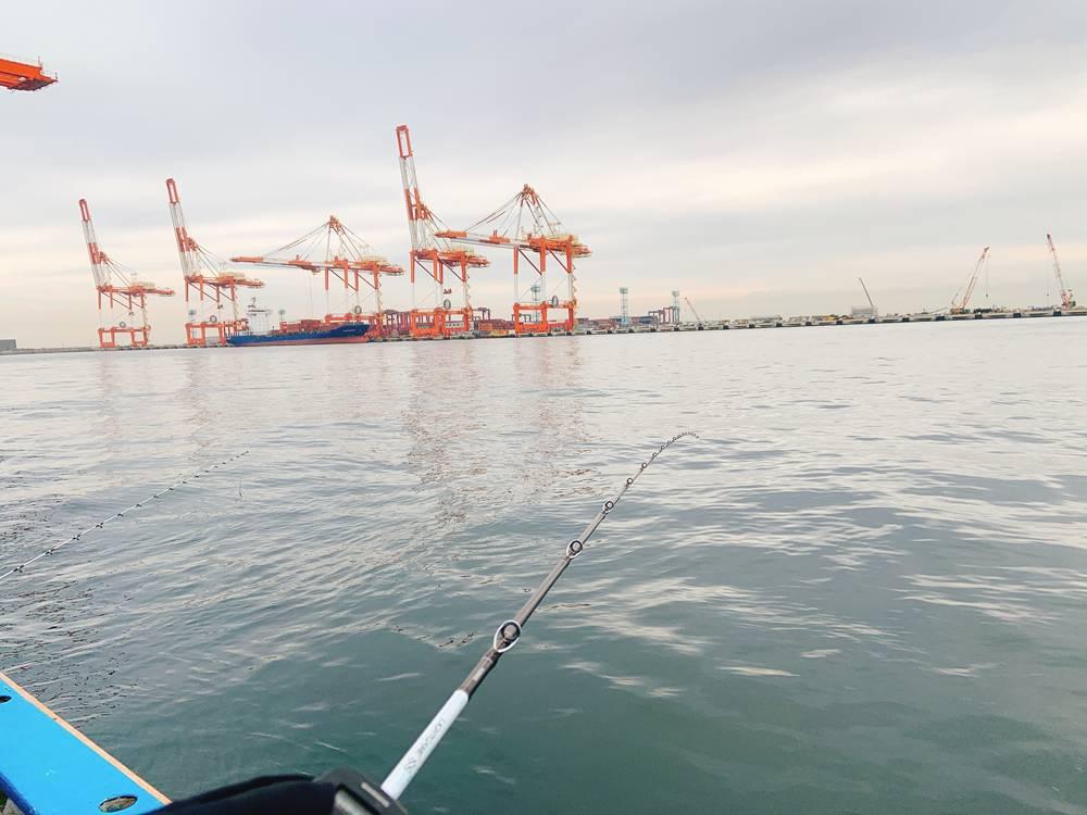 南本牧で船釣り