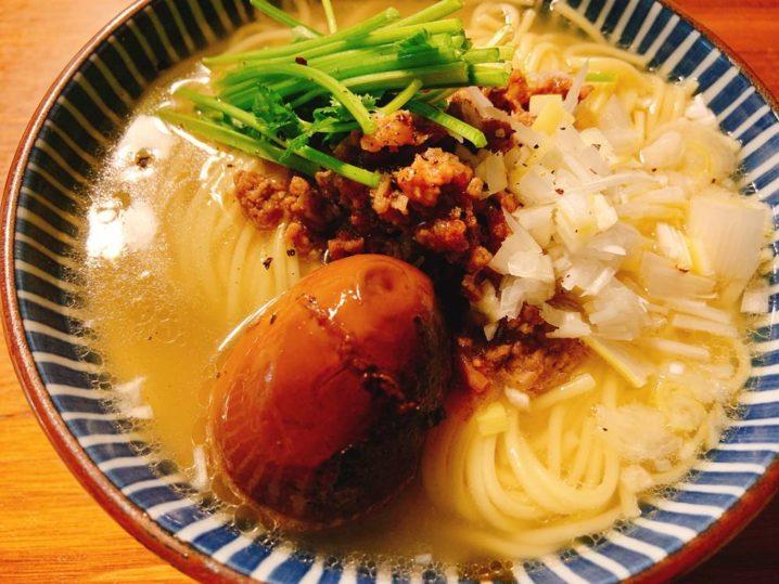 マゴチのアラ汁麺
