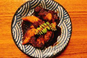 アジ子の山椒甘辛煮