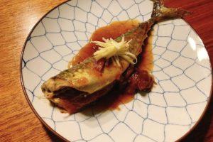 サバの梅味噌煮