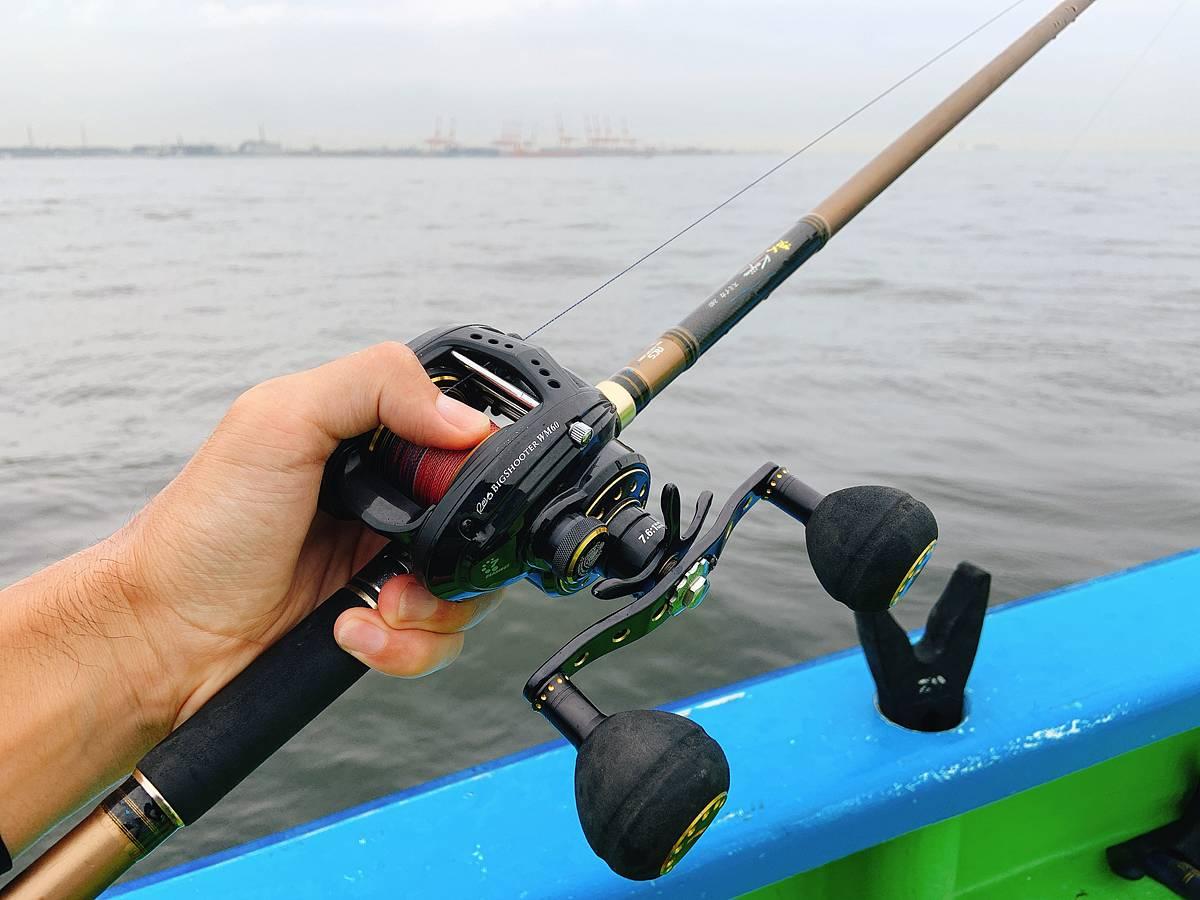 船タコ釣り用のタックル