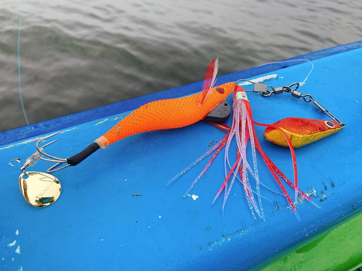 タコ釣り用のエギ
