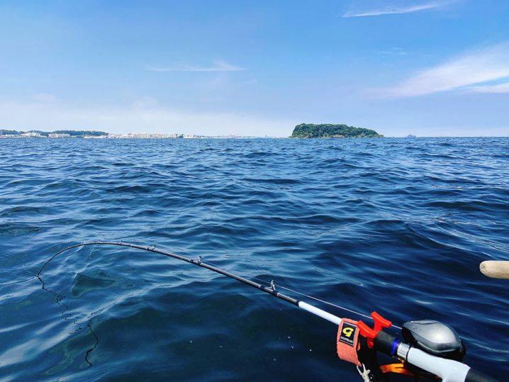 大津沖の猿島