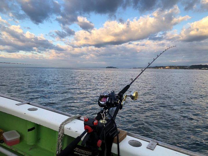 船釣りの釣り座