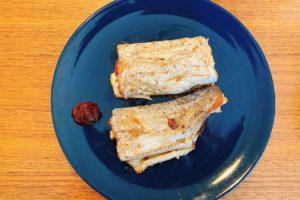 太刀魚(タチウオ)の塩焼き・韓国焼き