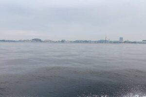 水潮の富岡沖